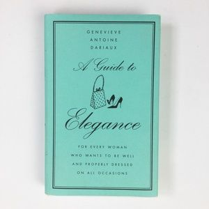 A Guide to Elegance — gift book